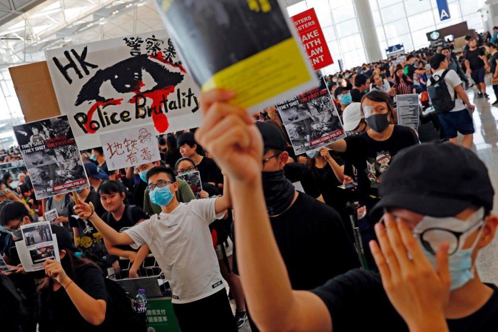 Инвесторы испугались гонконгских протестов