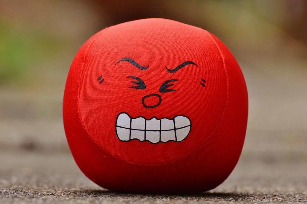 Цвет настроения красный